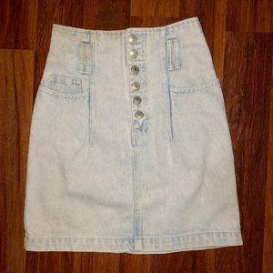 Jordache Vintage Acid Wash Skirt